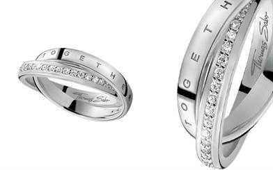 Thomas Sabo couple rings