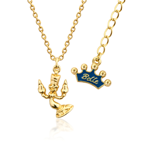 Couture Kingdom Disney Belle crown necklace