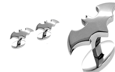 Guild Jewellery Design Batman silver stud earrings