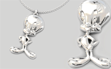 Guild Jewellery Design Looney Tunes Tweety Bird