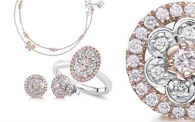 Blush Pink Diamonds pink Argyle diamond collection