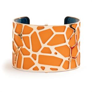 Les Georgettes by Altesse Les Essentielles Girafe design rose gold finish bracelet