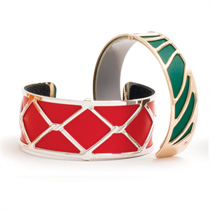Les Georgettes by Altesse Les Essentielles rose gold finish bracelets
