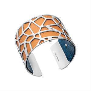 Les Georgettes by Altesse Les Essentielles Girafe design silver finish bracelet
