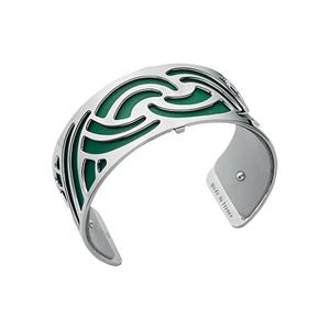 Les Georgettes by Altesse Les Essentielles Nouage design silver finish bracelet