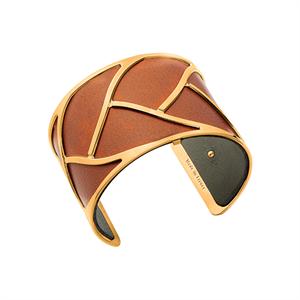 Les Georgettes by Altesse Les Essentielles Tresse design gold finish bracelet