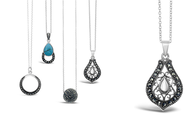 Stones & Silver's brand new Marcasite collection