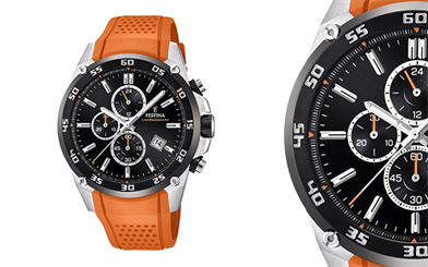 West End Collection's Festina Chrono watch