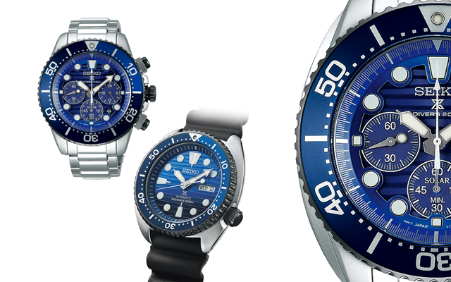 Seiko's Limited Edition automatic turtle and solar chronograph diver's watch