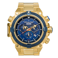 Buzo dive solid gold dive wrist watch