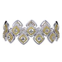 Crisscut bracelet