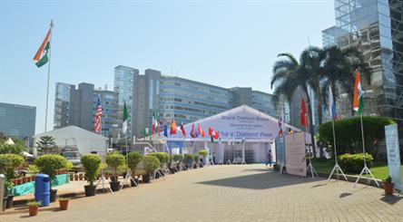 The first Bharat Diamond Week took place within the BDB complex this April.