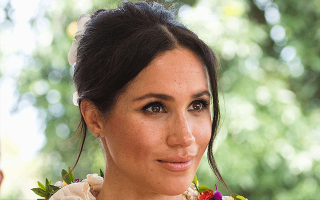 Meghan Markle dons Karen Walker earrings