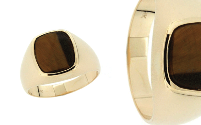 Paterson Fine Jewellery's heritage-style men's signet ring
