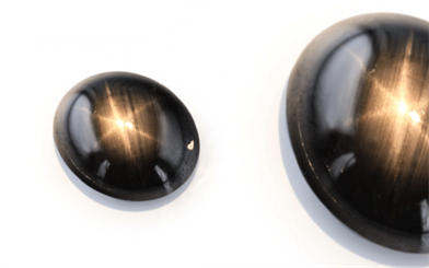 O'neils Affiliated black sapphire gemstone