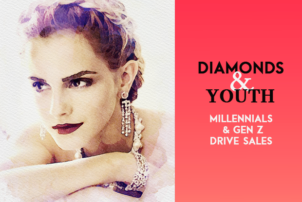 Diamonds and youth: Millennials and Gen Z drive sales