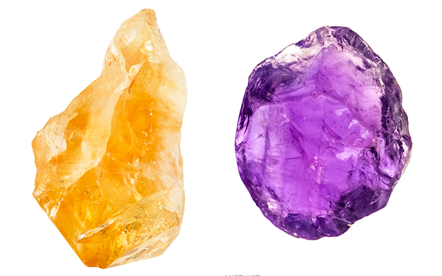 Colour investigation: Quartz