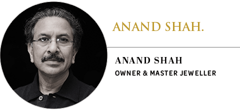 Anand Shah Jewellery: Anand Shah, owner and master jeweller