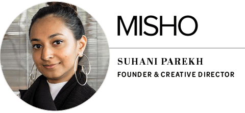 MISHO Jewellery: Suhani Parekh, founder and creative director