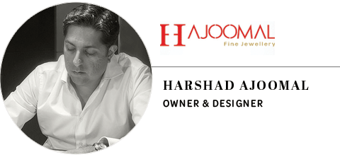 H.Ajoomal Jewellery: Harshad Ajoomal, owner and designer