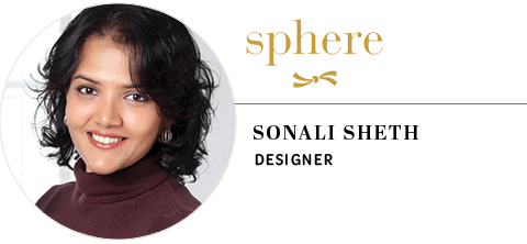 Sphere Jewellery: Sonali Sheth, head designer