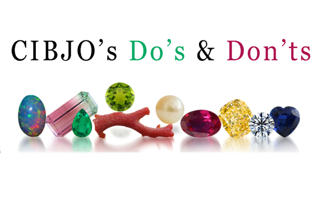 "CIBJO's new ""Do's and Don'ts"" guide is available online"