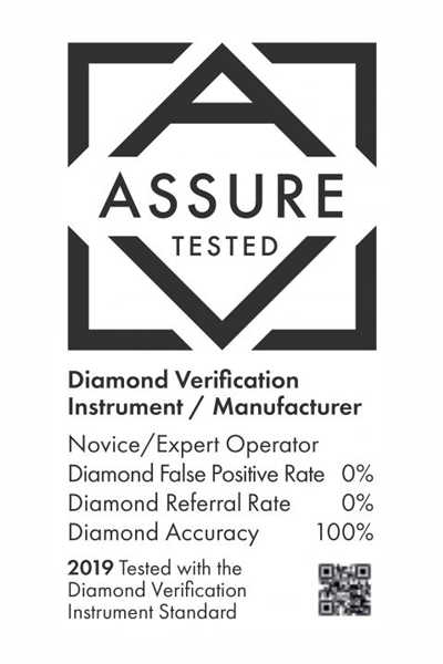 The 'Assure tested' logo will be applied to certified machines.