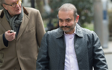 Nirav Modi has been arrested in London, and remains in custody awaiting further extradition hearings. Credit: Eddie Mulholland for the Telegraph