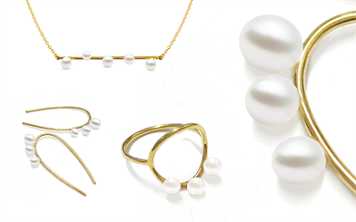 Atlas Pearls and Perfumes'18-carat yellow gold jewellery pieces