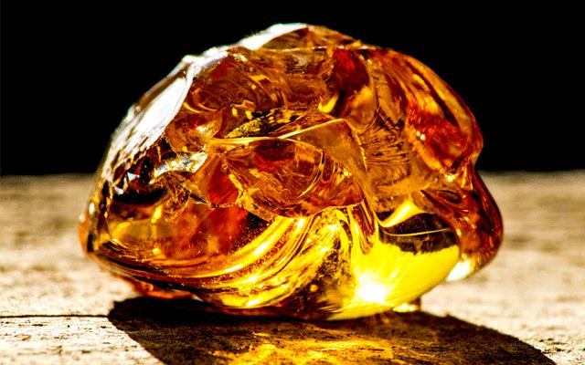 Organic gems part 1: Amber