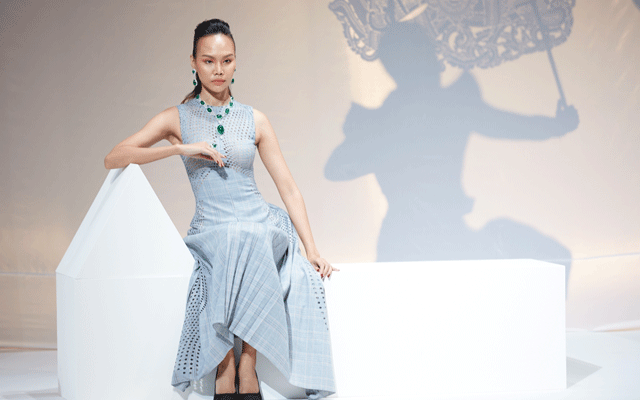 High-end craftsmanship was on display during the opening ceremony