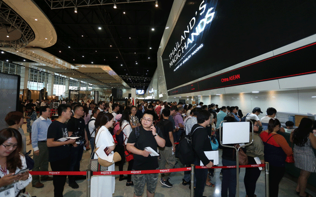 More than 14,000 visitors attended the 63 Bangkok Gems and Jewellery Fair