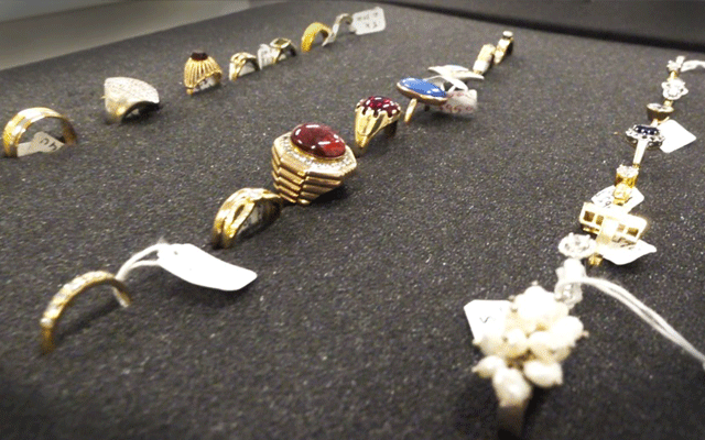 A man has been charged after police seized $200,000 worth of stolen jewellery from a Perth store