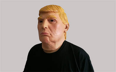 A man wore a similar Donald Trump mask to rob a Queensland jewellery store.