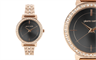 Pierre Cardin's rose gold diamond embellished watch