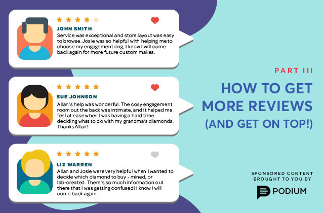 How to get more online reviews (and get on top!)