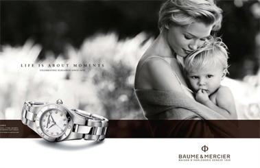 Baume & Mercier watches are now distributed by DGA.