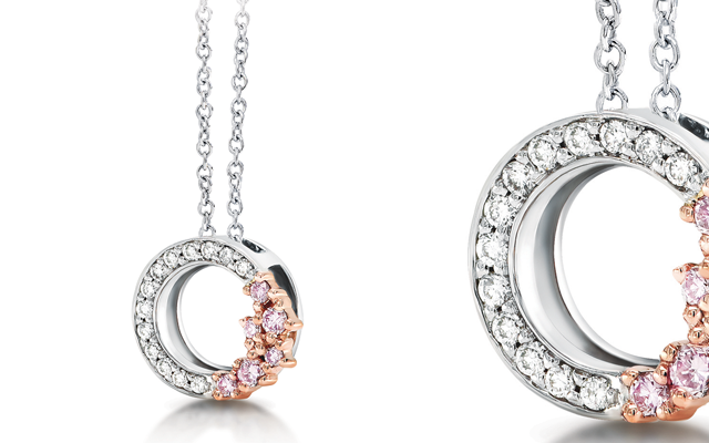 Blush Pink's Argyle diamond collection