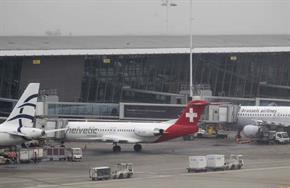The heist target was a Helvetic Airways plane bound for Zürich.