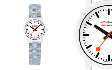Mondaine's Essence White collection