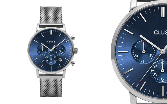 Cluse's chronograph watch