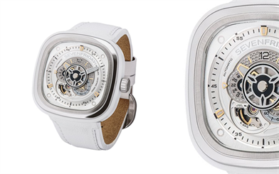 SevenFriday white watch collection