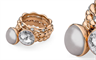 Qudo's interchangeable jewellery with Swarovski crystals and crystal pearls