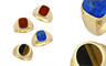 Paterson Fine Jewellery's 9-carat gold men's signet rings