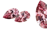 Facets Australia's pair of pear shaped gemstones.