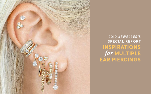 Floral gardens to rainbows: 26 inspirations for multi-piercings