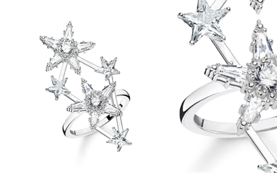 Thomas Sabo's Magic Stars ring.