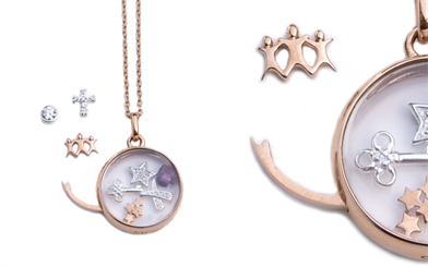 A piece from Stow Lockets' new Radiance collection.