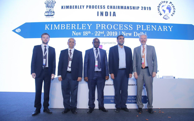 The Kimberley Process 2019 Plenary was held from 18-22 November in New Delhi, India.