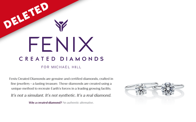Michael Hill changes website, removes diamond claims